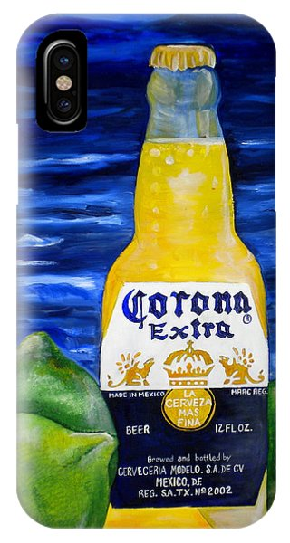 Corona Phone Case by Patti Schermerhorn
