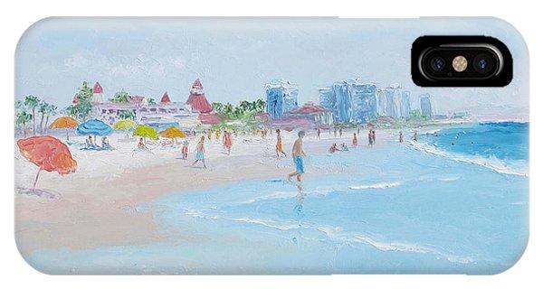 Coronado Beach San Diego IPhone Case