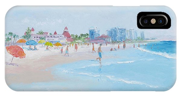 Coronado Beach San Diego IPhone Case