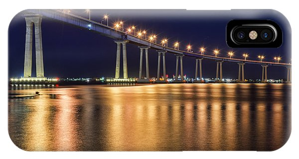 Coronado Bridge Phone Case by Eddie Yerkish