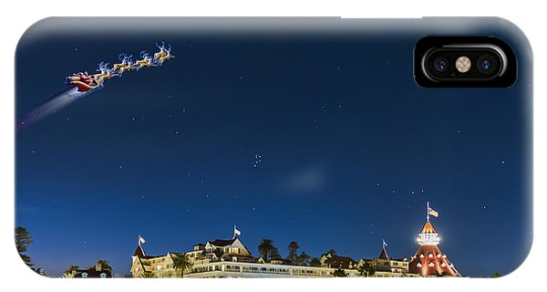 Coronado Christmas IPhone Case