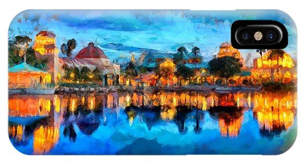 Coronado Springs Resort IPhone Case