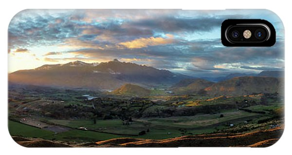 Coronet Peak And Skippers Canyon  IPhone Case