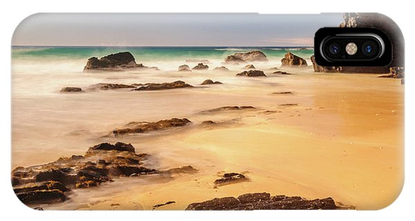 Corunna Point Beach IPhone Case