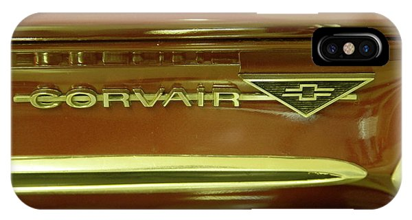 Corvair iPhone Case - Corvair by Jeff Swan