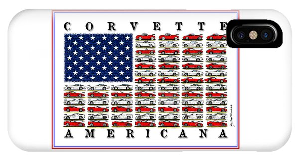 Corvette Americana IPhone Case