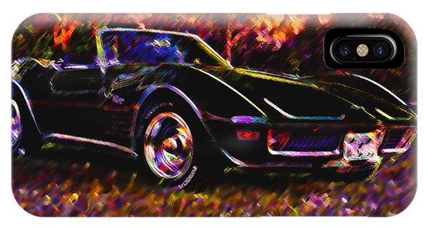 Corvette Beauty IPhone Case