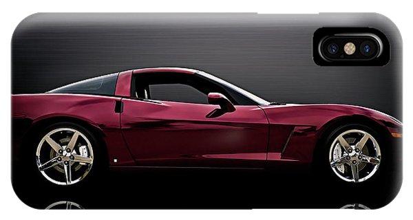 Chrome iPhone Case - Corvette Reflections by Douglas Pittman
