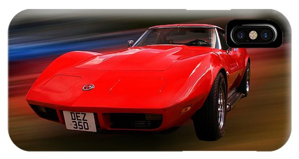 iPhone Case - Corvette Stingray by Chris Day