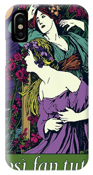 Cosi Fan Tutte Opera IPhone Case