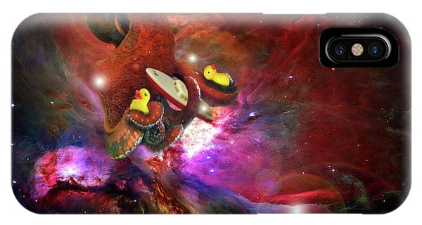 Cosmic Bath Time IPhone Case