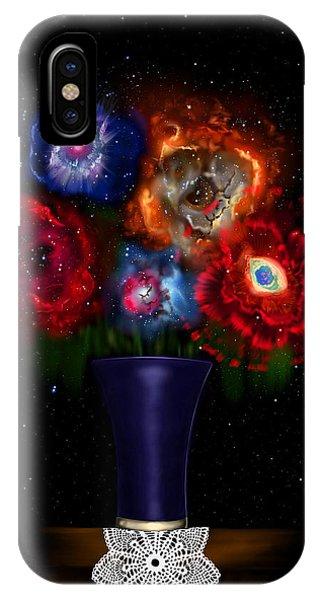 Cosmic Bouquet IPhone Case