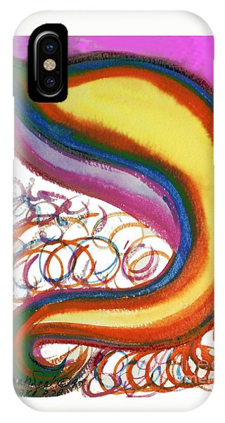 Cosmic Caf IPhone Case