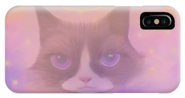 Cosmic Cat IPhone Case