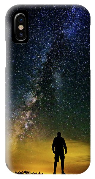 Cosmic Contemplation IPhone Case