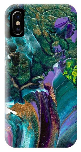 Cosmic Feathered Webbed Universe IPhone Case