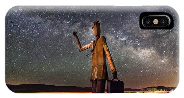 Cosmic Hitchhiker IPhone Case