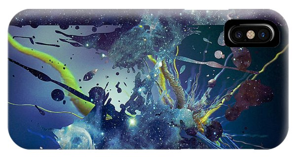 Cosmic Resonance No 1 IPhone Case