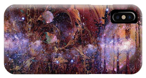 Cosmic Resonance No 2 IPhone Case