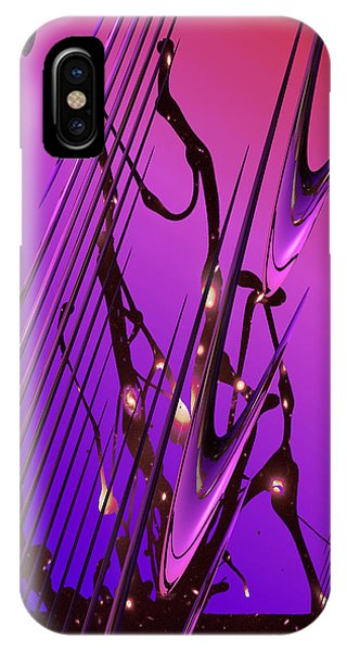 Cosmic Resonance No 6 IPhone Case