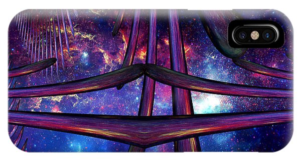 Cosmic Resonance No 7 IPhone Case
