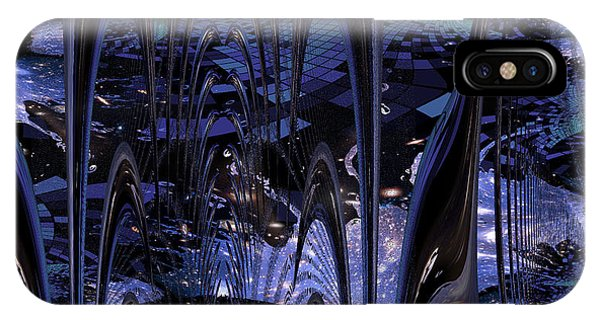 Cosmic Resonance No 8 IPhone Case
