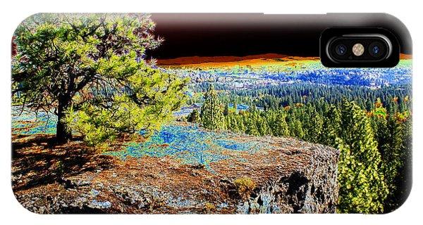 Cosmic Spokane Rimrock IPhone Case