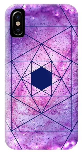 Cosmic Vacuum Cleaner Spiral Galaxy M83 IPhone Case