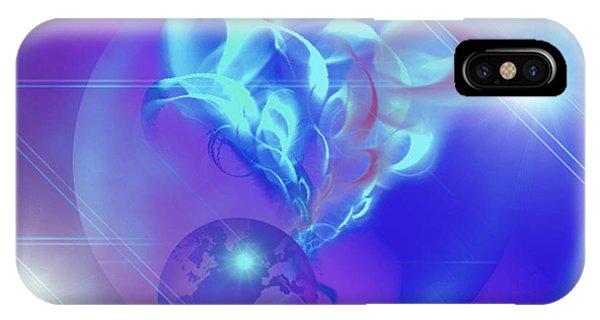 Cosmic Wave IPhone Case