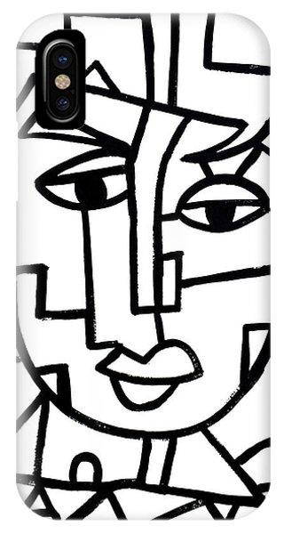 Cosmopolitan Man - Painting IPhone Case