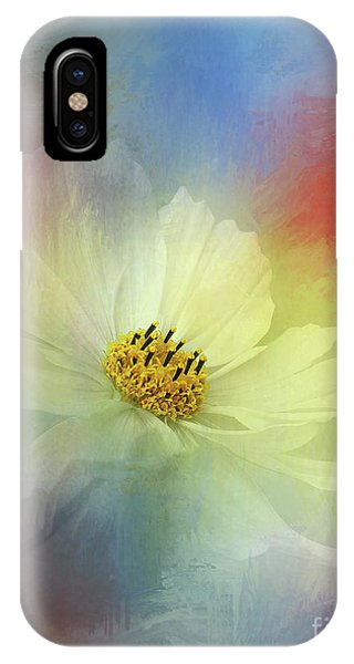 Cosmos Dreaming Abstract By Kaye Menner IPhone Case