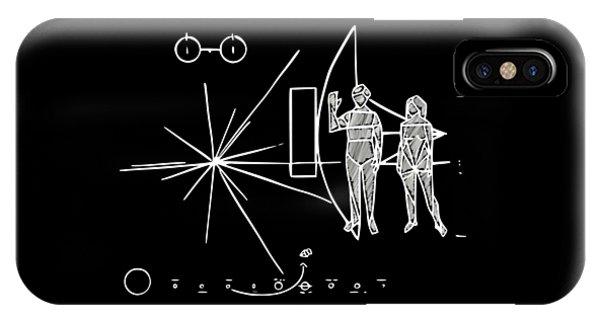 Cosmos Greetings  IPhone Case
