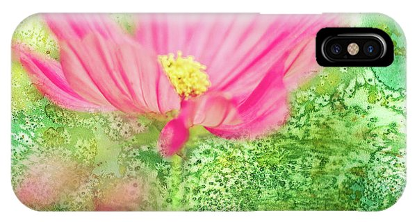Cosmos On Green IPhone Case