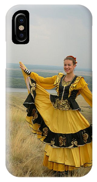 Cossack Young Woman IPhone Case