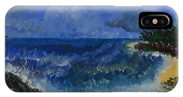 Costa Rica Beach IPhone Case