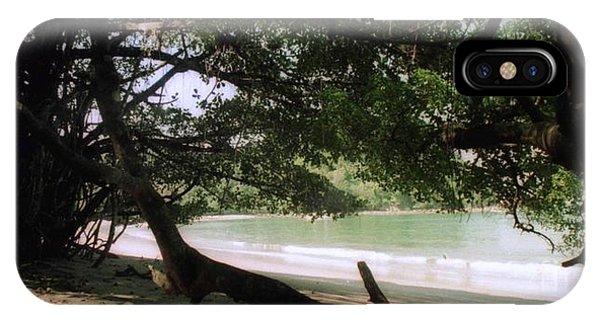 Costa Rica Beach Cove IPhone Case