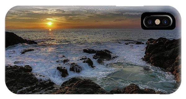 Costa Rica Sunrie IPhone Case
