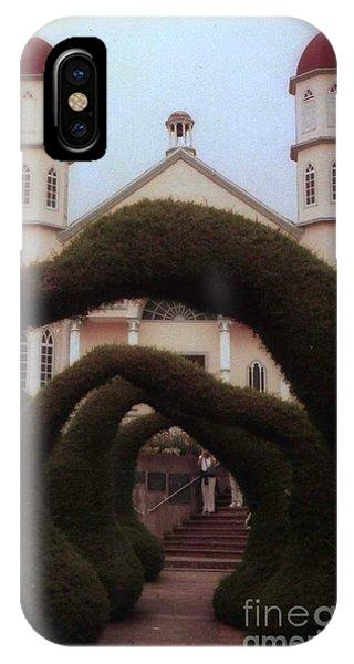 Costra Rica Garden Church IPhone Case