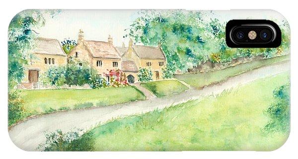 Cotswold Cottages IPhone Case