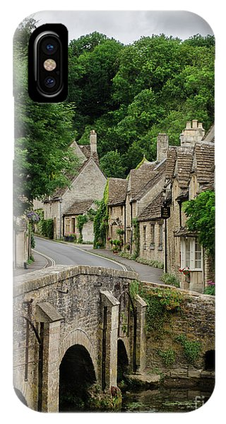 IPhone Case featuring the photograph Cotswolds Village Castle Combe by IPics Photography
