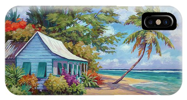 Cottage At The Water's Edge IPhone Case