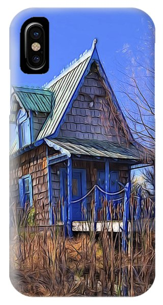 Cottage In The Willows IPhone Case