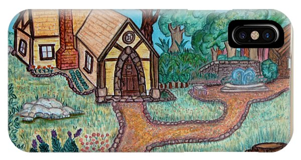 Simple iPhone Case - Cottage Life by Alisa Tomlinson