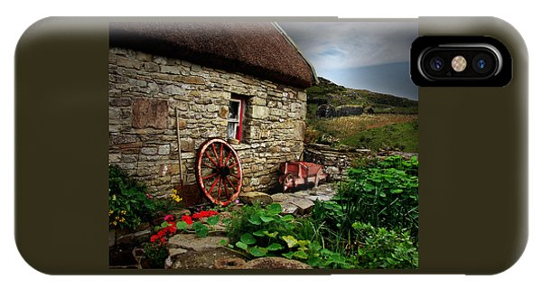 Cottage On The Moor IPhone Case