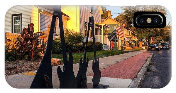 Cottage Street Guitars IPhone Case