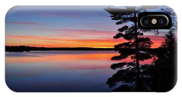 Cottage Sunset IPhone Case