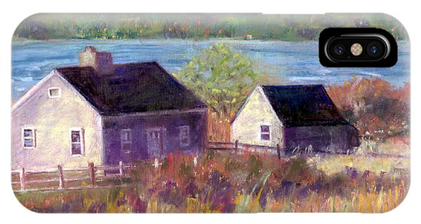 Cottages By The Bay IPhone Case