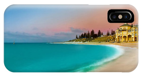 Australia iPhone Case - Cottesloe Beach Sunset by Az Jackson