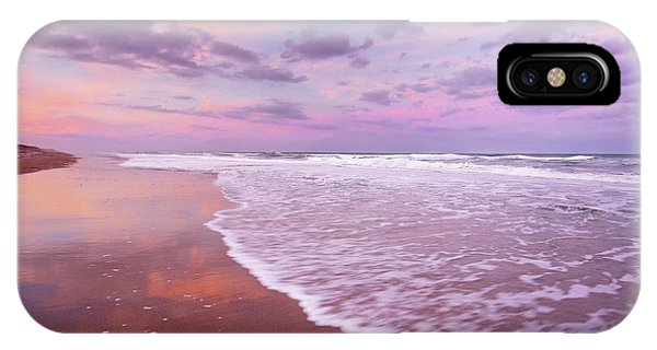 Cotton Candy Sunset. IPhone Case