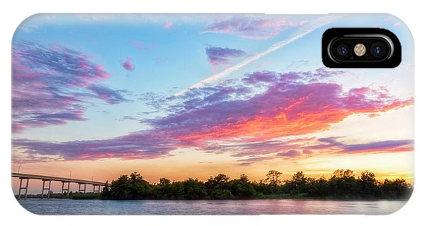 Cotton Candy Sunset IPhone Case